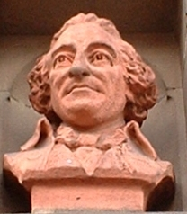 bust of Tom Paine